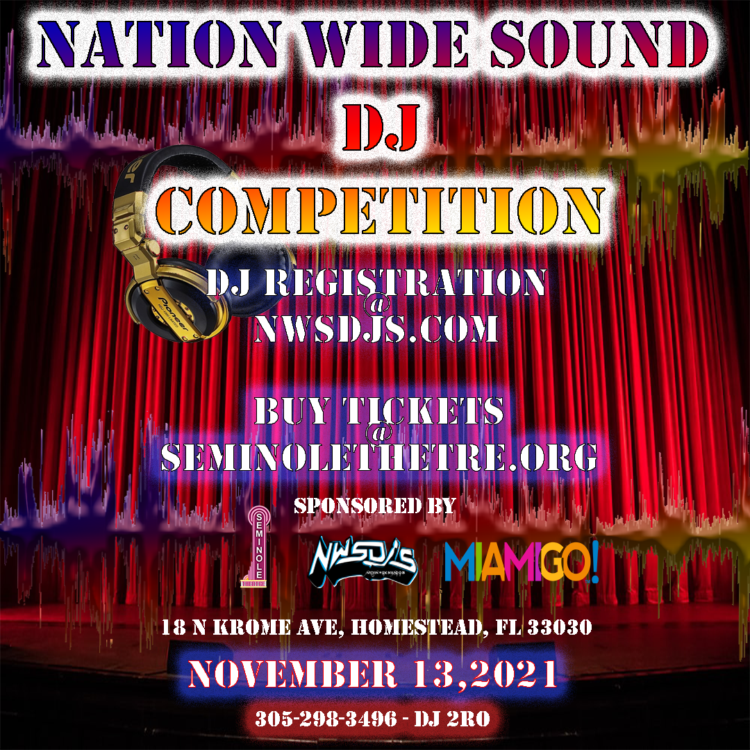 2021 nation wide sound dj competition